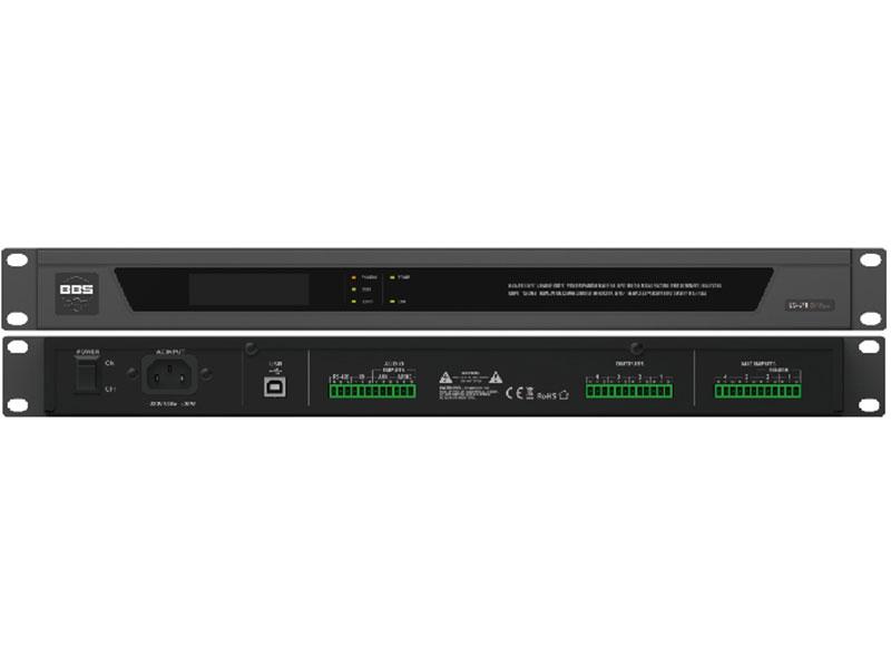 ES640 6进4出数字音频处理器