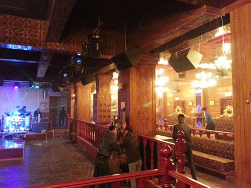 山东聊城爵色酒吧工程案例
