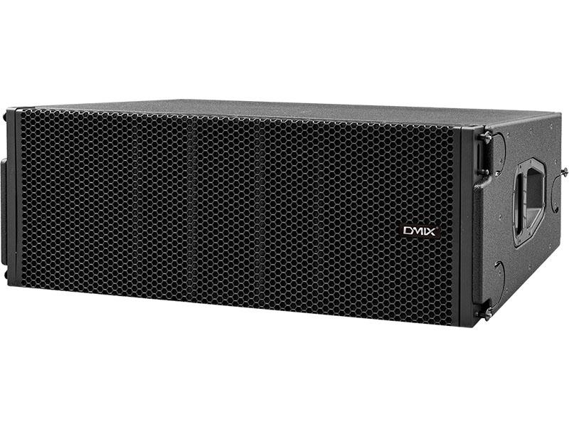 DMIX   PLA 212  双12寸二分频全天候线阵列扬声器