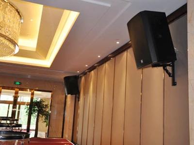 山东省招远市招金舜和国际酒店音响设备安装案例