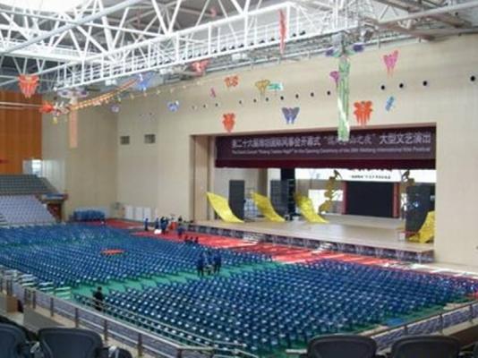 潍坊学院体育馆第十一届全运会会议室音响设备案例