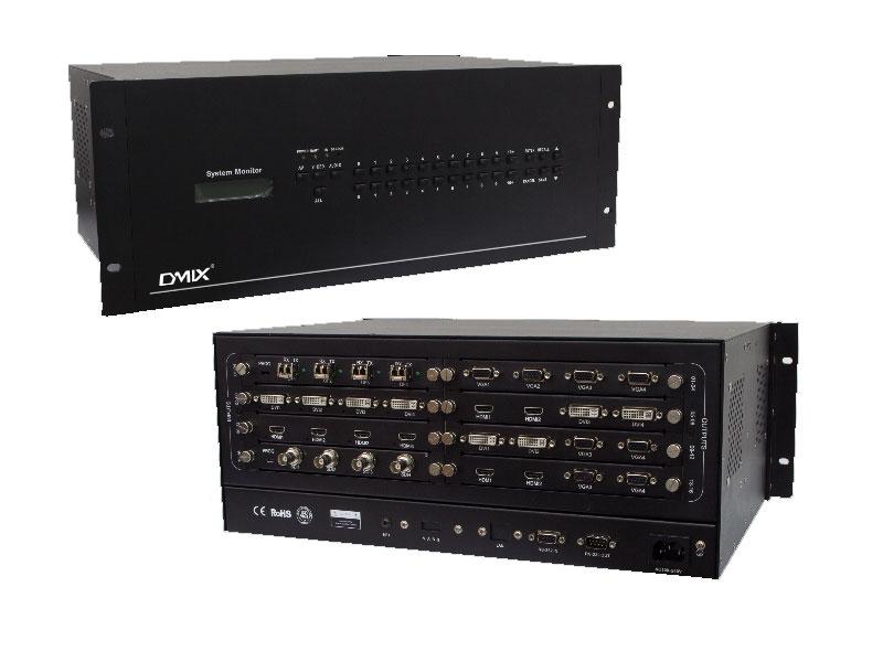 DMIX  DV-HC0808  无缝组合插卡式8系主机
