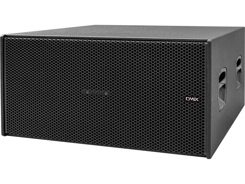 DMIX   GLB 218a  双18寸有源低音反射式超低频扬声器