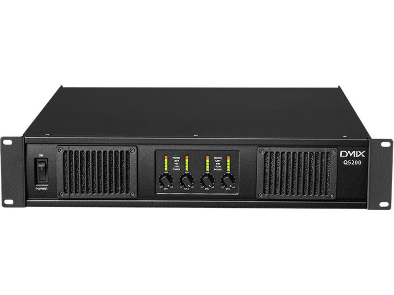 DMIX   Q5200  四通道开关电源功率放大器